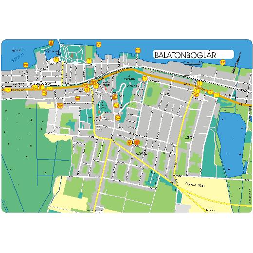 balatonfenyves térkép Balatonfenyves szállás, szállások Balaton balatonfenyves térkép
